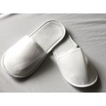 Polyester Fabric Towel Hotel Slipper -3mm Sole -