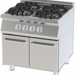 GAS COOKER WITH 4 CABINETS