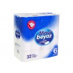 Blue White 30x30 Square Napkin